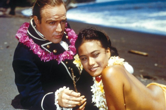 Tahitian actress Tarita Teriipia, who played his love interest in Mutiny on the Bounty, became Brando's third wife on August 10, 1962.