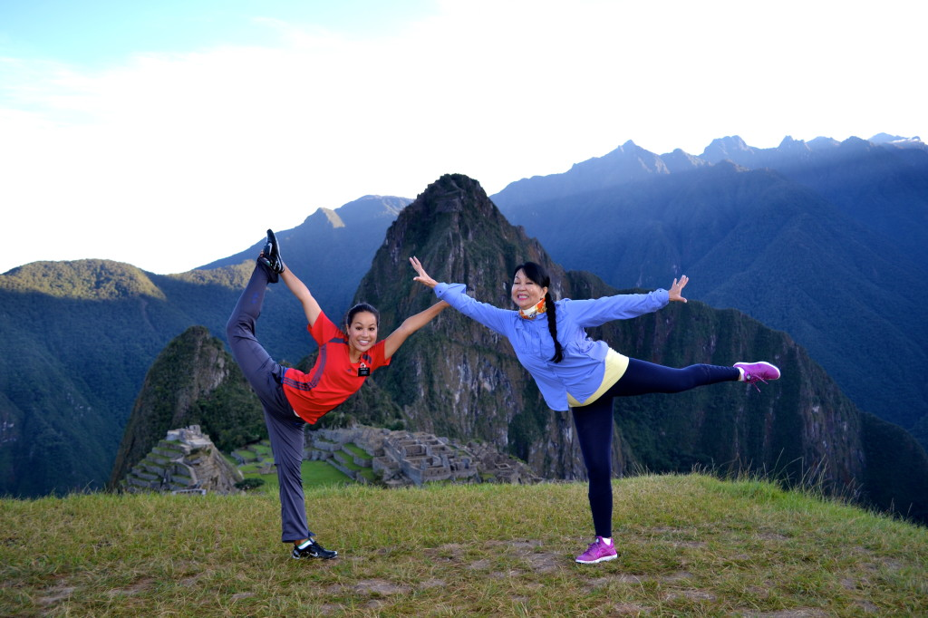 A joyous occasion indeed when my daughter, Gabrielle and I reached the mystical, towering land of the Incas:  MACHU PICCHU.