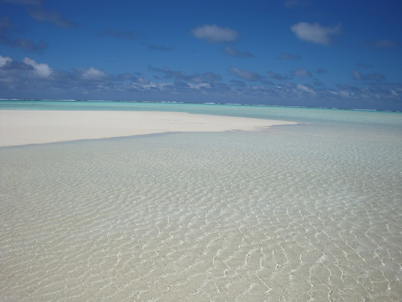 PRISTINE with a capital P! Aitutaki, Cook Islands