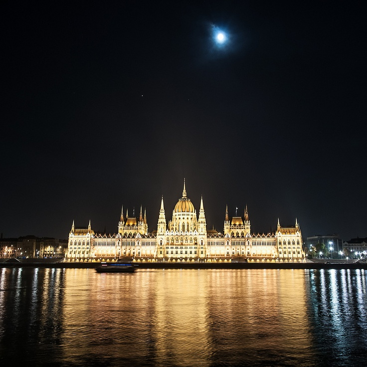 "HELLO BUDAPEST!  Another Bucket List item checked off! To see her illuminated was a goose bump producing moment.  I was packing in my stateroom when I suddenly realized what was right before me.  I grabbed my camera, stepped onto my balcony and just went into photographer's dream mode!  With every click I found myself saying, ""Thank you!  Thank you!  Thank you!"
