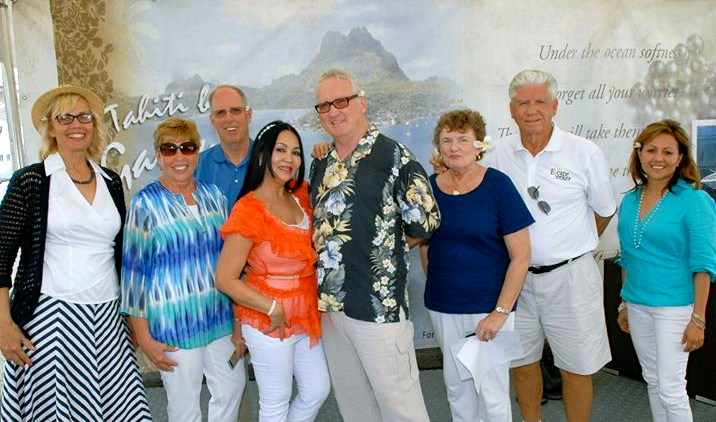 "Cruise ""cast members"" comprised of ESCAPESEEKER supporters...some of the kindest people I know."
