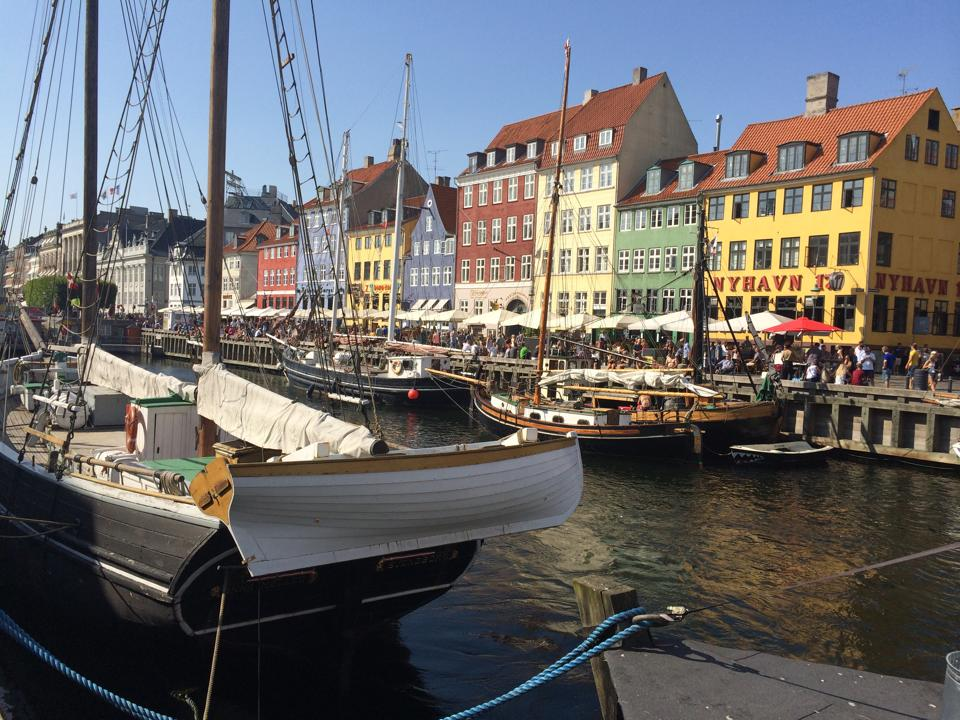 Copenhagen was vibrant with activity.  If you wish to interact with the locals...this is the place!