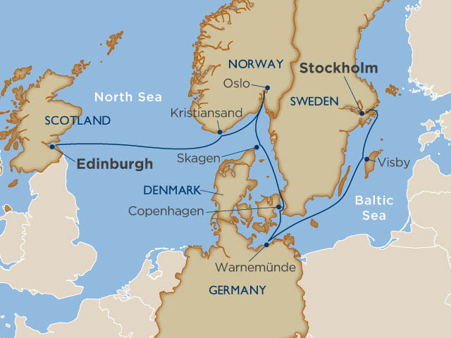 Our Scandinavian itinerary offered something for everyone...for the young and the young at heart!
