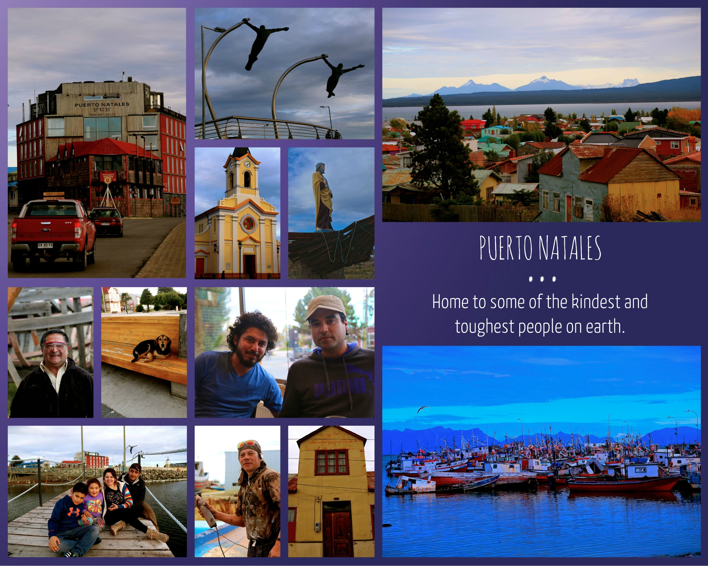 Puerto Natales collage (1)