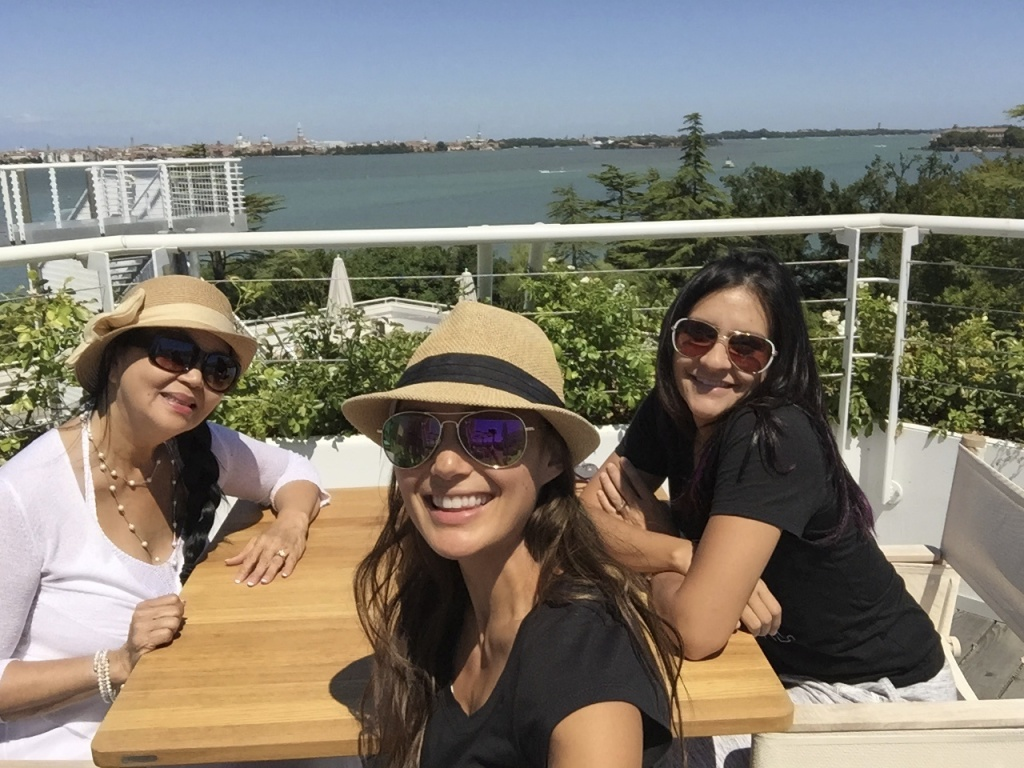 "Sunkissed Welcome Brunch at the JW Marriott Venice ""Sagra"" Rooftop Restaurant."