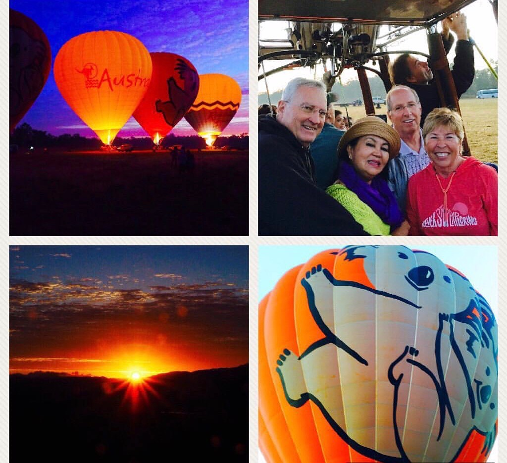 Watching the sun rise slowly peek through the mountain tops as we sailed high above the fertile Mareeba Valley with Hot Air Balloon Cairns made the 3:55 a.m. pick up time absolutely worth it!