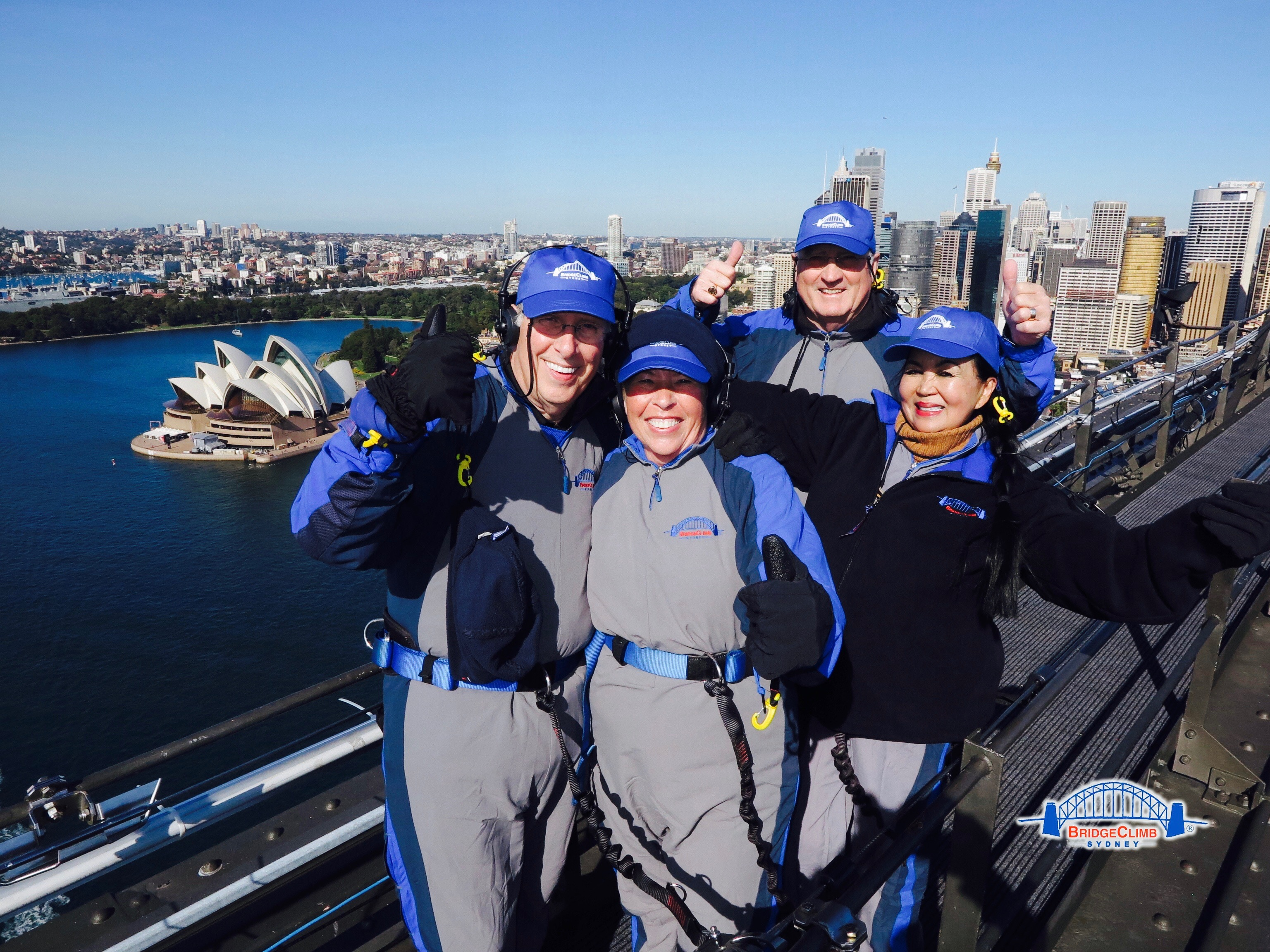 How can we not accept the challenge to climb the iconic landmark, Sydney Harbor Bridge? If you're looking for a true HIGH--this is an absolute must do! #bestviewofyourlife