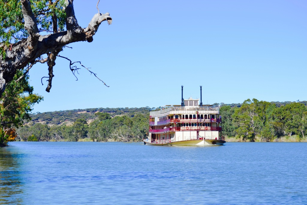 We said goodbye to the big city life and stepped back in time when riverboat trade only happened along the Murray River when this beautiful 'Princess' moved between small town ports.